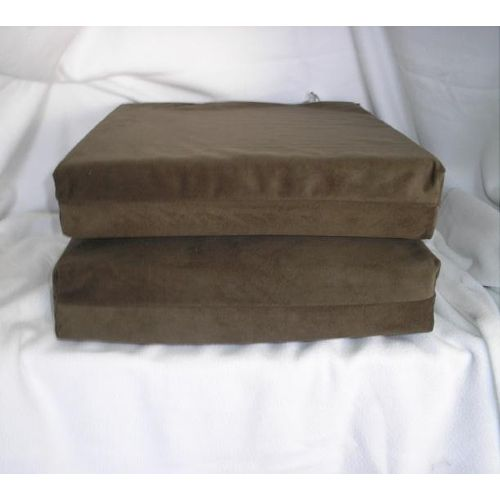 Poli Foam Cushion in Green Soft Touch Fabric